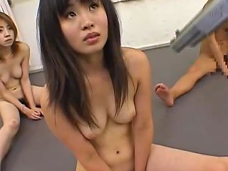 AnyPorn Porno - Armed Men Forcing Several Girls To Do A Group Sex Orgy