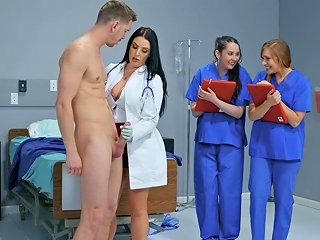 BravoTeens Porno - Sexy Doctor Angela White Teaches Her Students All About Hard Sex