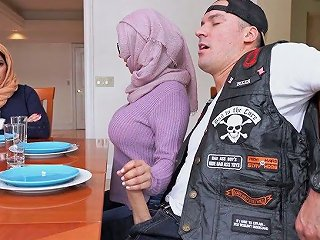 XCafe Porno - Bootyful Hijab Lady Violet Myers Is Fucked Doggy So Darn Perfect