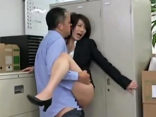 VJAV Porno - Japanese Office Silent Fucking My Favourite Pposition