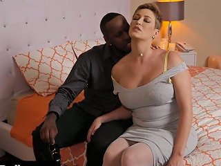 XCafe Porno - Fabulous Big Breasted White Milf Lets Black Stud Fuck Her Twat Mish