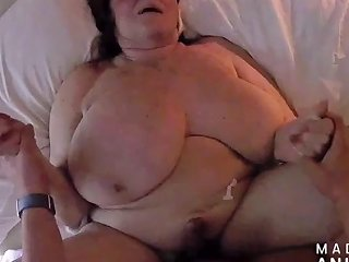 JizzBunker Porno - Nympho Granny With A Body Made For Fucking