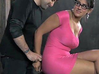 SpankWire Porno - Slave Gets Vicious Drilling