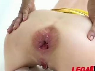 RedTube Porno - Teeny Asshole Destroyed In Double Anal Sex 124 Redtube Free Group Porn