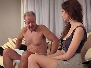 XHamster Porno - Old Young Porn Natural Teen Takes Grandpa Cock In Her