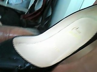 GotPorn Porno - Shoejob Christian Louboutin High Heels