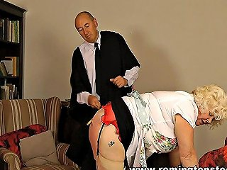 GotPorn Porno - Blonde Mature School Cook Caned And Paddled