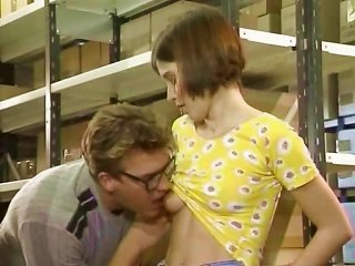 XHamster Porno - Supernerd With A German Teen