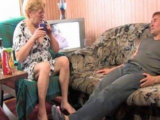 JizzBunker Porno - Russian Granny