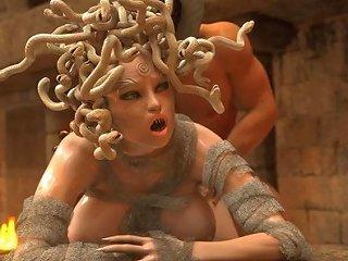 JizzBunker Porno - Medusa Comic Porn