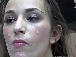 XHamster Porno - Premium Bukkake Alma Swallows 64 Huge Mouthful Cum