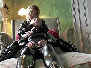 XHamster Porno - Breath Play Practice For The Latex Slave Girls Hd Porn 28