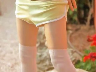 DrTuber Porno - Petite Skinny Doll Masturbate